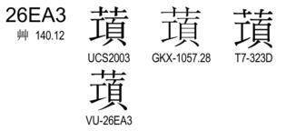 U+26EA3