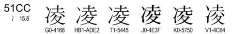 U+51CC