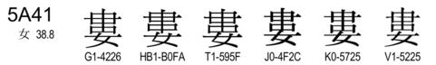 U+5A41