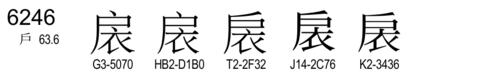 U+6246