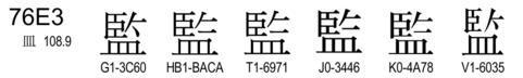U+76E3