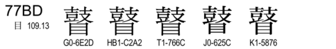 U+77BD