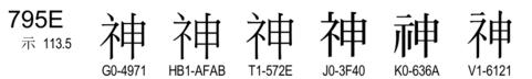 U+795E