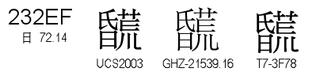 U+232EF